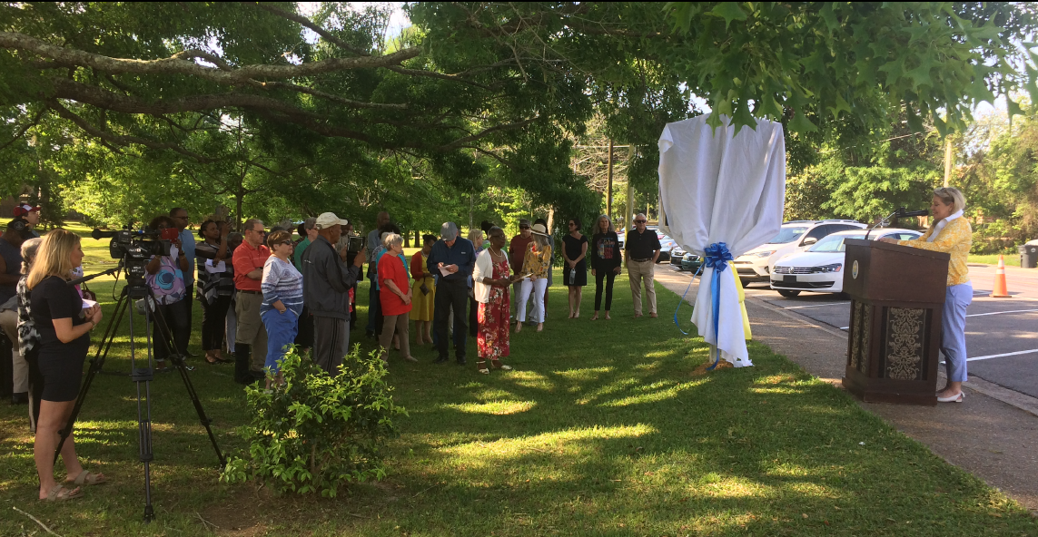 Nancy Lewis – Stewart, The Picture Man Historical Marker Unveiled in Fairhope