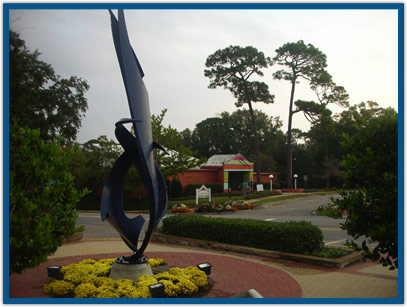 Public Art at Fairhope Civic Center