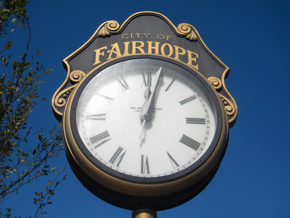 Fairhope Clock